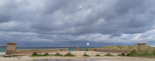 La plage de Colignon