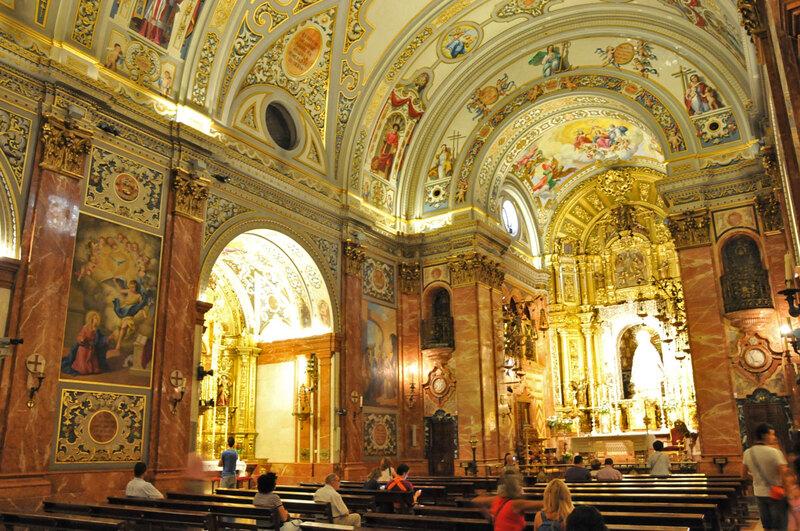 Séville, église de la Macarena