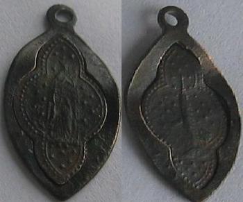 Médaille démontable  avers.revers