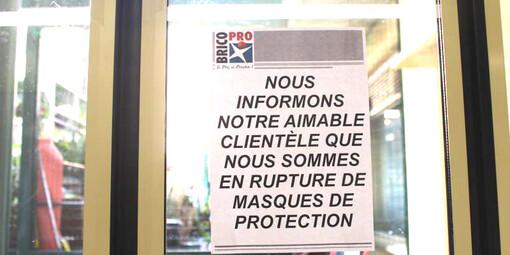 Un fabricant de masques : «Pas un seul coup de fil des services publics»