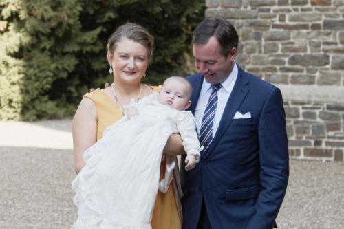 Baptême du Prince Charles du Luxembourg