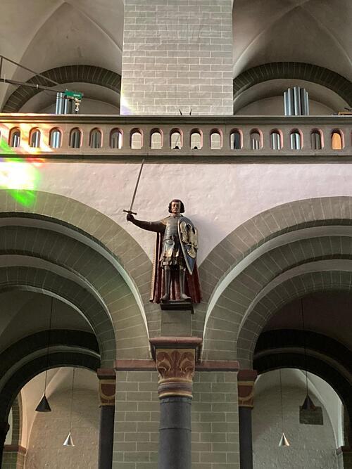 Soest - Saint Patrocle de Troyes dans l'église (Roland)