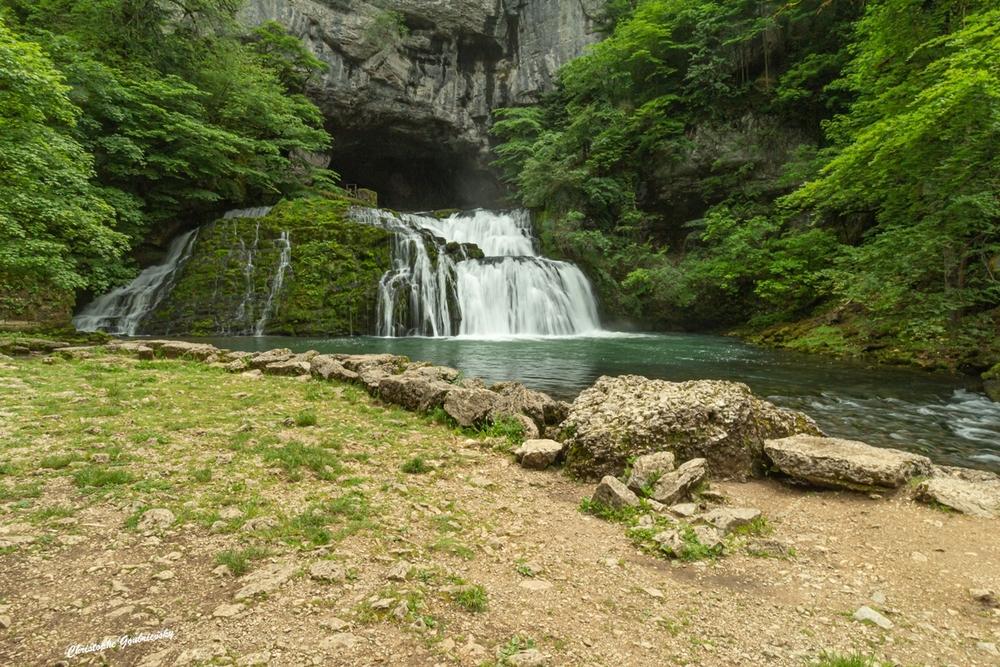 La source du Lison (Doubs)