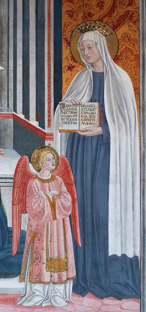 Sainte Françoise Romaine et le purgatoire