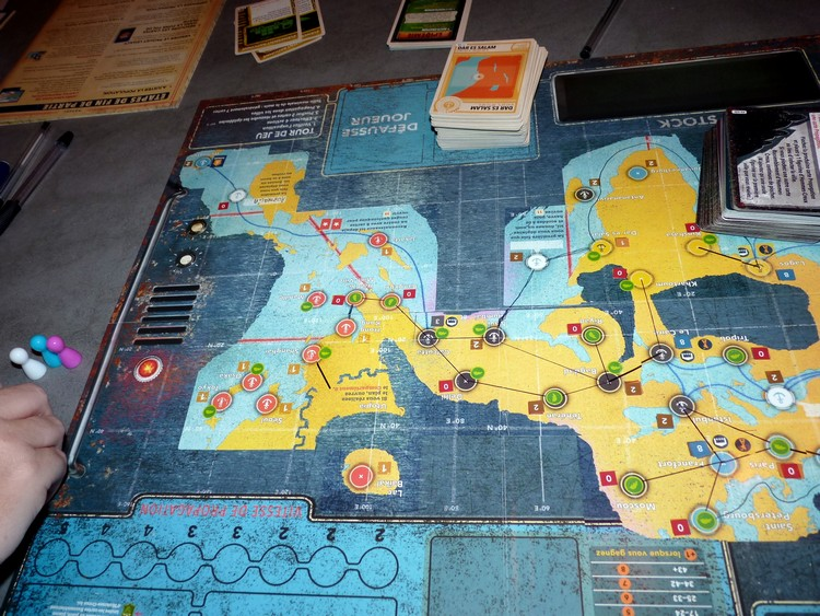 Pandémie Legacy (Asie)
