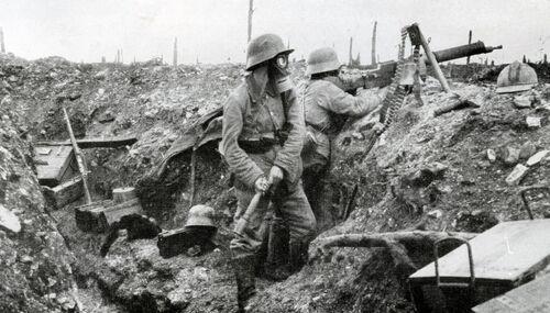 Les gaz dans la grande guerre