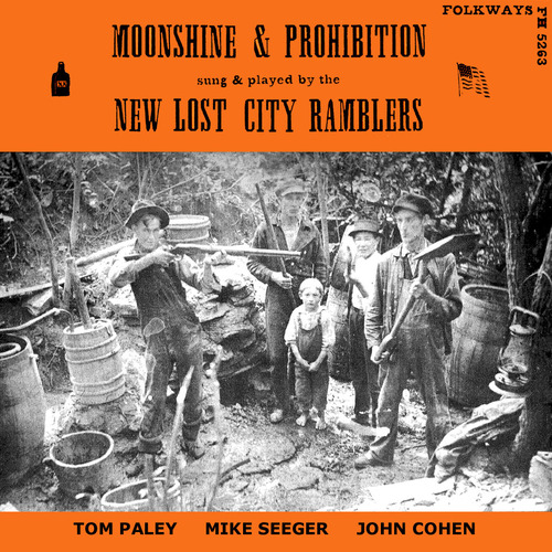 New Lost City Ramblers, The - Moonshine & Prohibition (1962) [Country, Folk]