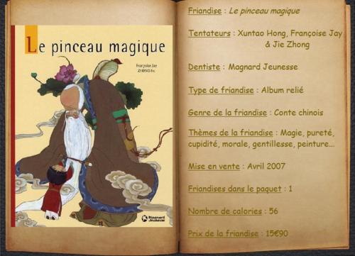 Le pinceau magique - Xuntao Hong, Françoise Jay & Jie Zhong