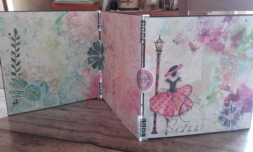Découverte de la Geli press et Carabelle studio avec Laeticia17- Scrap plaisir