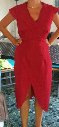 Projet robe rouge Daenerys