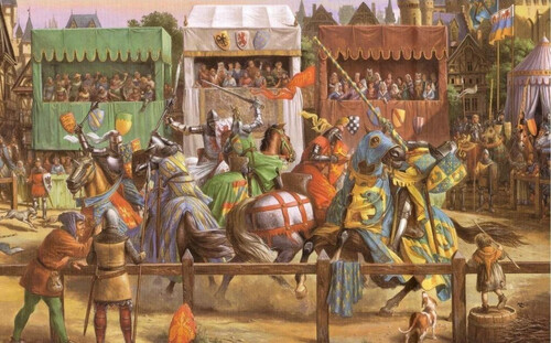 tournoi de chevalerie