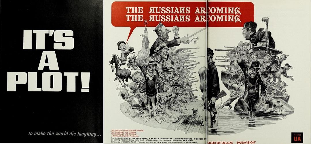 THE RUSSIANS ARE COMING, THE RUSSIANS ARE COMING BOX OFFICE USA 1966
