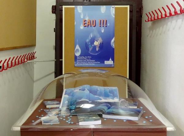 Une exposition sur l'eau à la Bibliothèque Municipale de Châtillon sur seine...