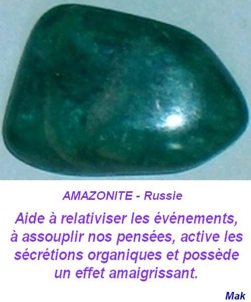 Le bienfait des pierres