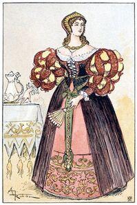 """""""Flammenn"""" ou la robe de Feu"""