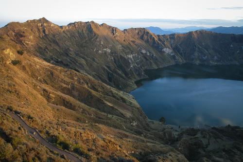 Quilotoa, un cratère qui tombe à l'eau