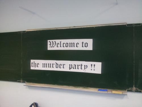 Murder Party au Collège