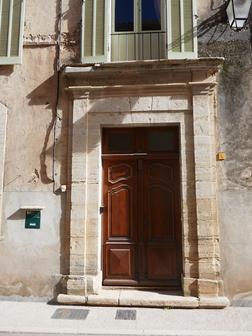 Belle porte rue de l'Église