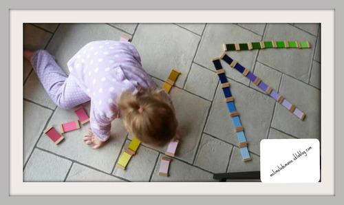 3ème Boîte de couleurs Montessori présentation