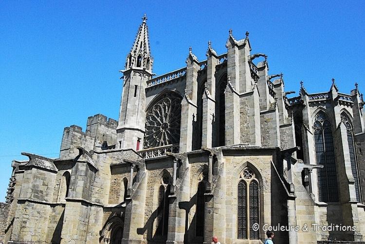 Carcassonne, la basilique St Nazaire