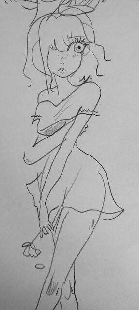 Cinquantaine de dessins au crayon (lingerie, mecs, amour...)