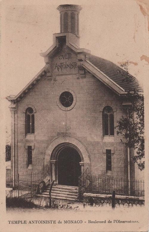 Temple antoiniste de Monaco - Boulevard de l'Observatoire