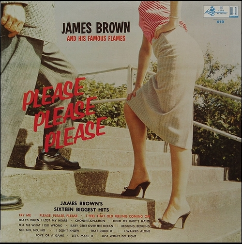 """1959 James Brown & The Famous Flames """" Please , Please , Please """" King Records K 610 [ US ]"""