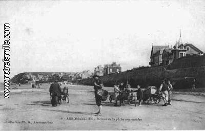 cartes-postales-photos-Retour-de-la-Peche-aux-Moules-ARROMA