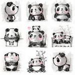 Top 10 des panda kawaii