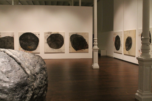 Exposition Jean-Luc Parant, Eboulement au musée des Beaux Arts de Chambéry