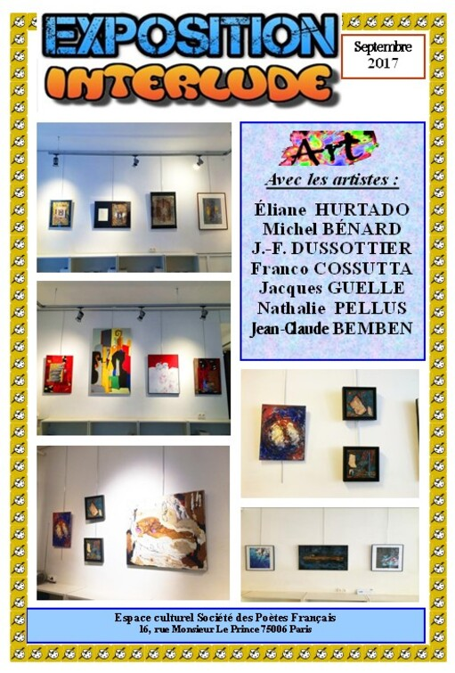 Interlude expositions 2017