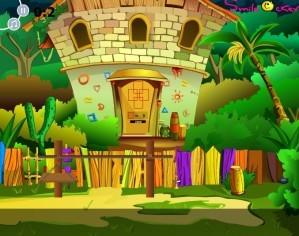 Cartoon room escape