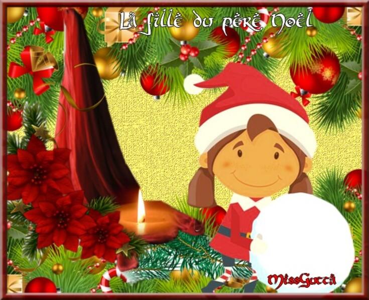 Dernier défi avant Noël pour Fée capucine & amie Nathie