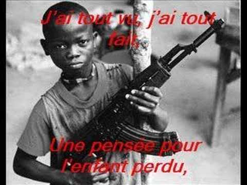 *Des enfants soldats