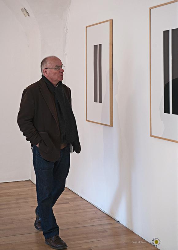 Daniel Levy travaux et l'artiste regardeur exposition