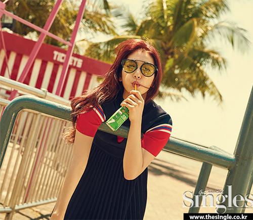 Park Shin Hye pour Single
