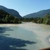 Le Confluent des deux Rhin, L postérieur avec les eaux claires en bas, l'Antérieur avec les eaux c