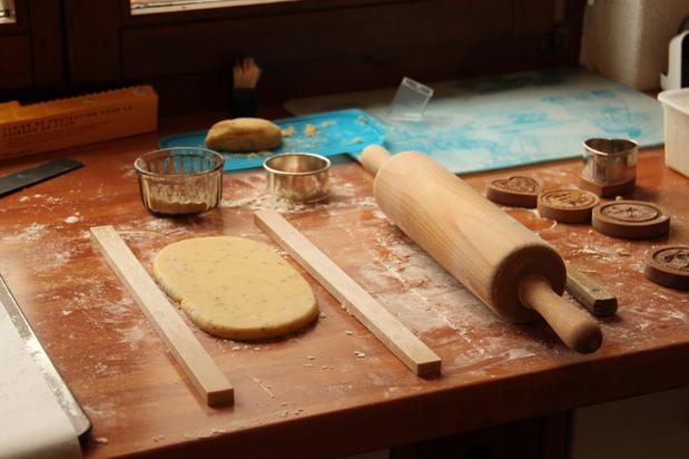 Sur le bord de ma table... de la farine
