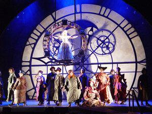 dance ballet times clocks adventure alice in wonderland