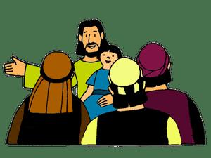 2_Jésus bénit les enfants