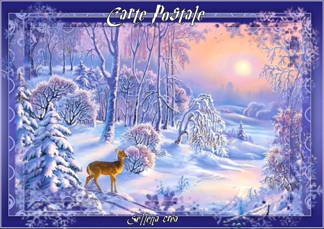 **Noël approche**Cartes Postales