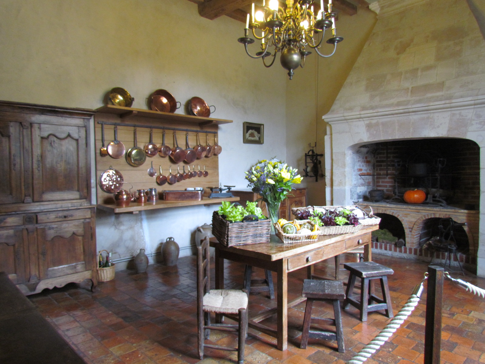 l 39 interieur du chateau de villandry 37510 indre et loir 1 2. Black Bedroom Furniture Sets. Home Design Ideas