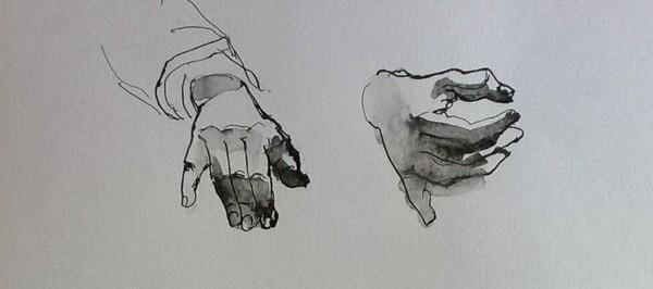 Mercredi - Etudes de main