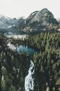 Image de nature, mountains, and landscape