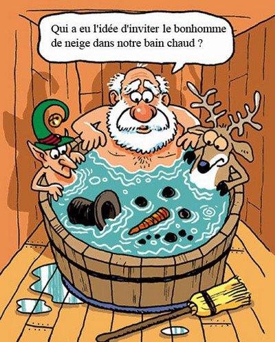 Un peu d'humour sur le père Noël
