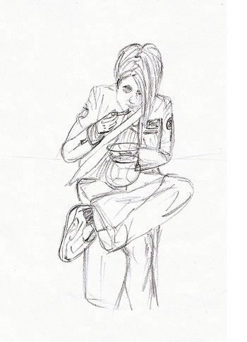 Autoportrait Mine de plomb HB -2006-