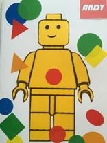 Carte d'anniversaire Lego pour grand frère