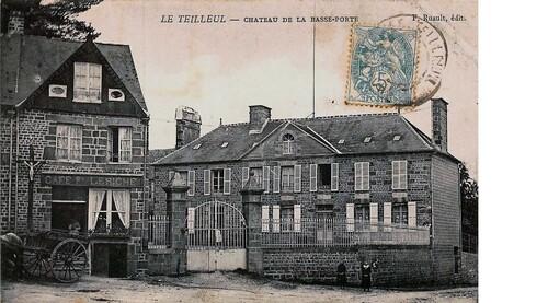 LES REMPARTS DU TEILLEUL (Manche)