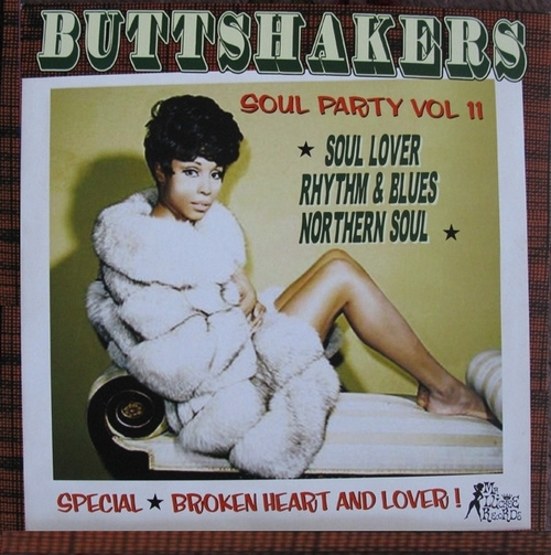 Buttshakers ! Soul Party Vol. 11 LP Mr. Luckee Records LUCK 420-79 [ FR ]