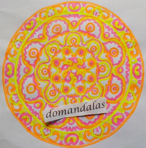 DOMANDALAS  mes derniers coloriages de mandalas